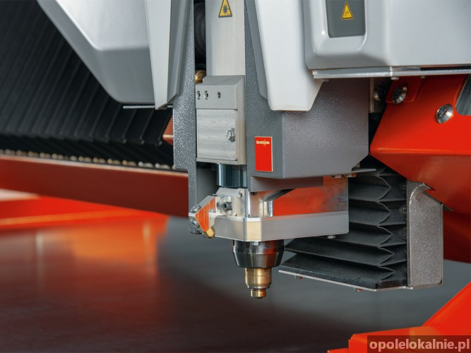 CIĘCIE LASEROWE blach, rur i profili - LASER FIBER 6 kW