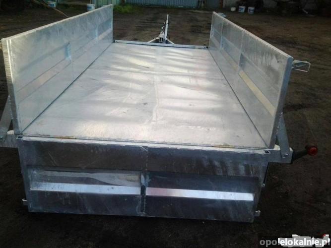 Przyczepka-Przyczepa 2-osiowaDMC1400kg hamulec najazdowy-dok