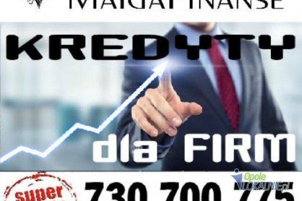 Kredyt, pożyczka dla Firm na oświadczenie bez ZUS, US.